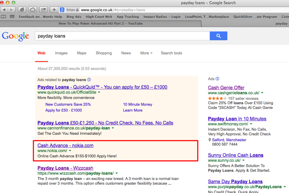 adwords account hacked