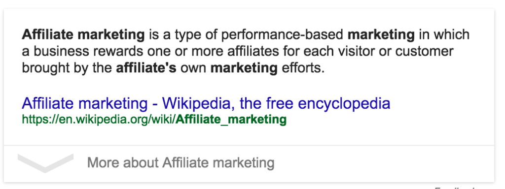 mis on affiliate marketing