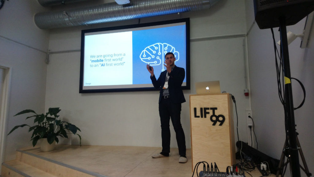 Google AdWords automation event speaker at Lift99